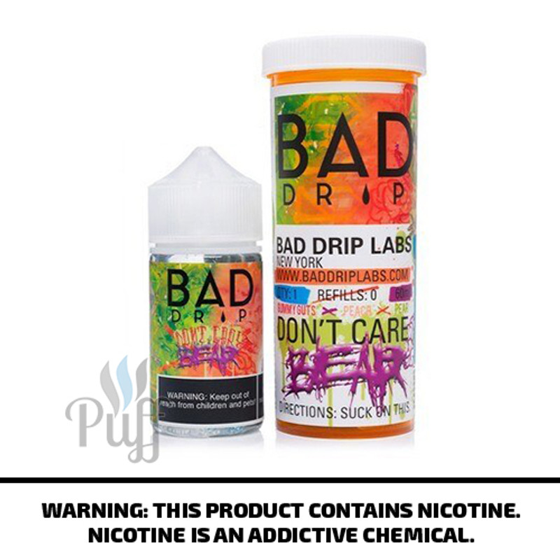 Bad Drip E-Liquid Don't Care Bear 60ml