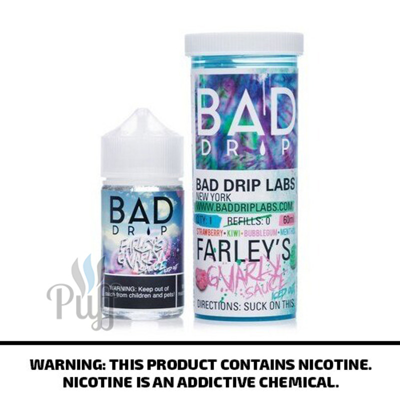 Bad Drip E-Liquid Farley's Gnarly Sauce Iced Out 60ml