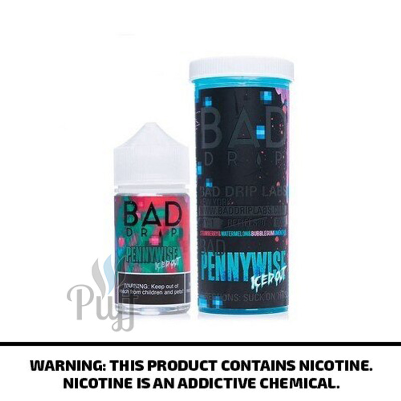 Bad Drip E-Liquid Pennywise Iced Out 60ml