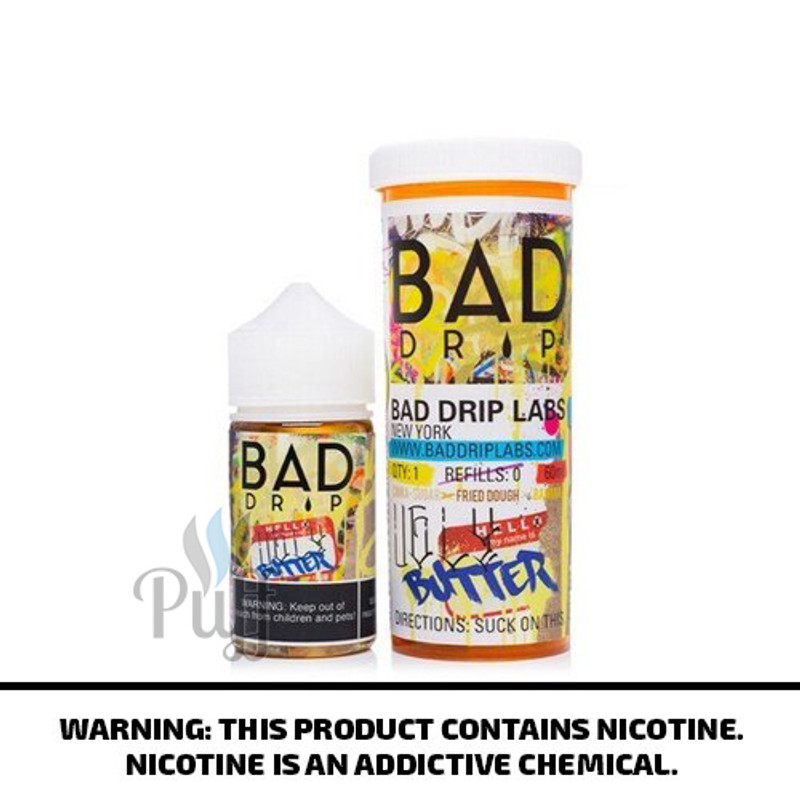 Bad Drip E-Liquid Ugly Butter 60ml