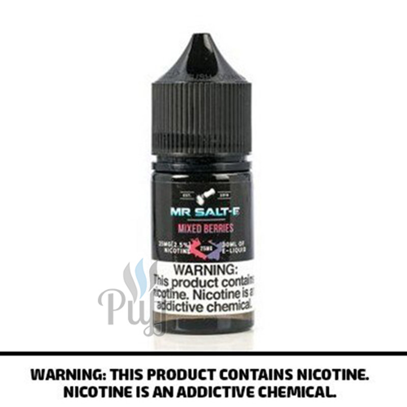 Mr Salt-E E-Liquid Mixed Berries 30ml