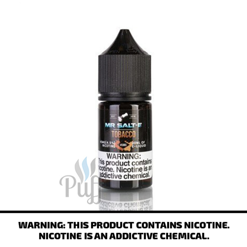 Mr Salt-E E-Liquid Tobacco 30ml