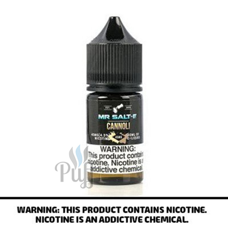 Mr Salt-E E-Liquid Cannoli 30ml
