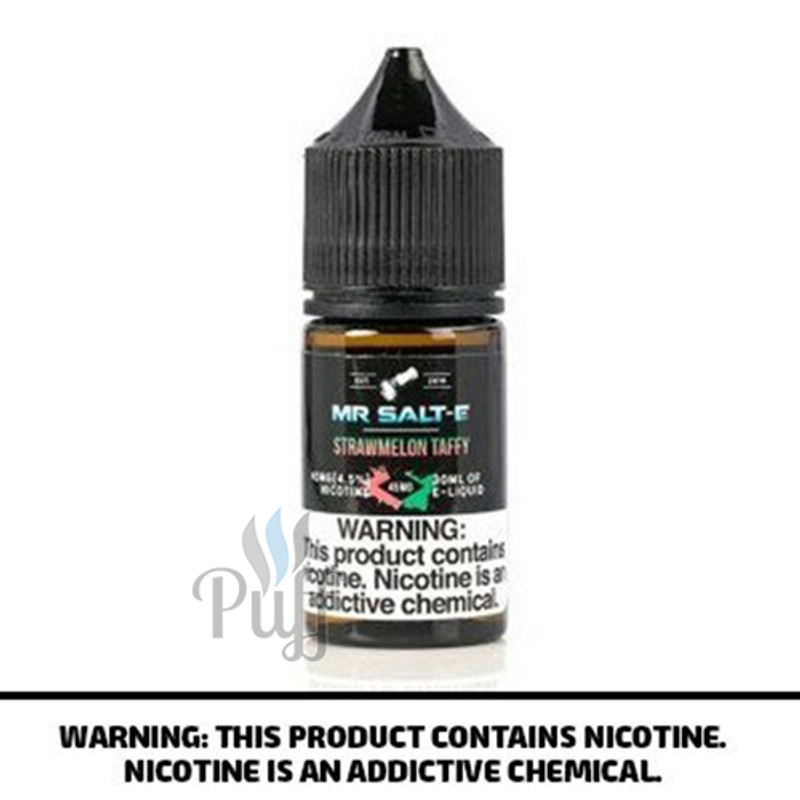 Mr Salt-E E-Liquid Strawmelon Taffy/Strawberry Watermelon 30ml