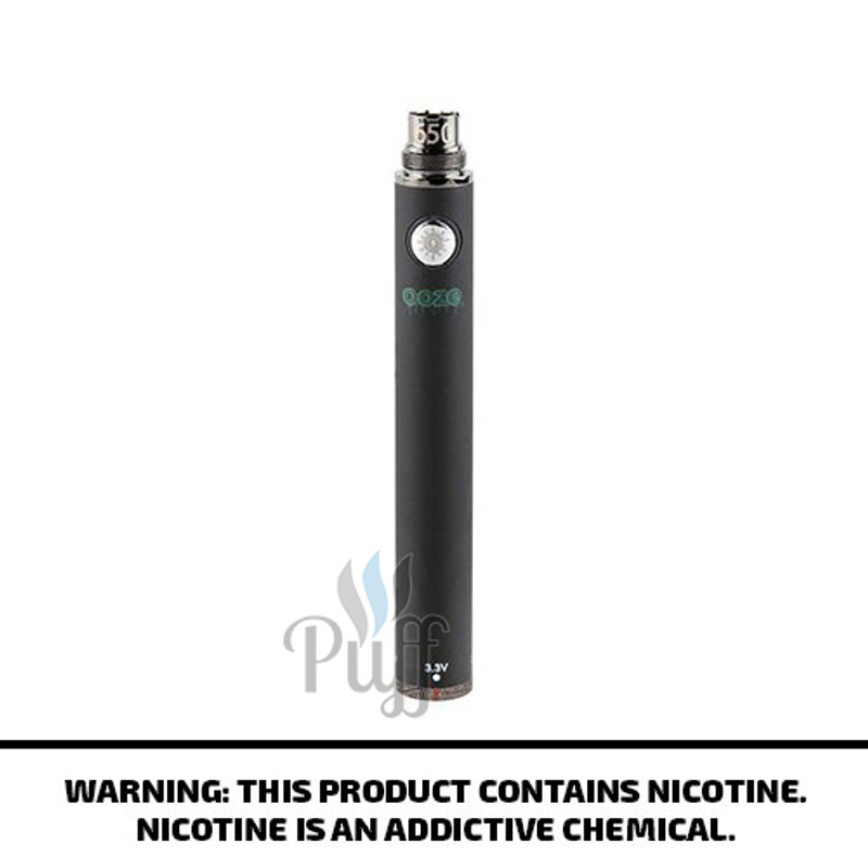Ooze 650 Twist Vape Battery - Black