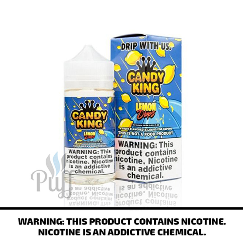 Candy King E-Liquid Lemon Drops 100ml