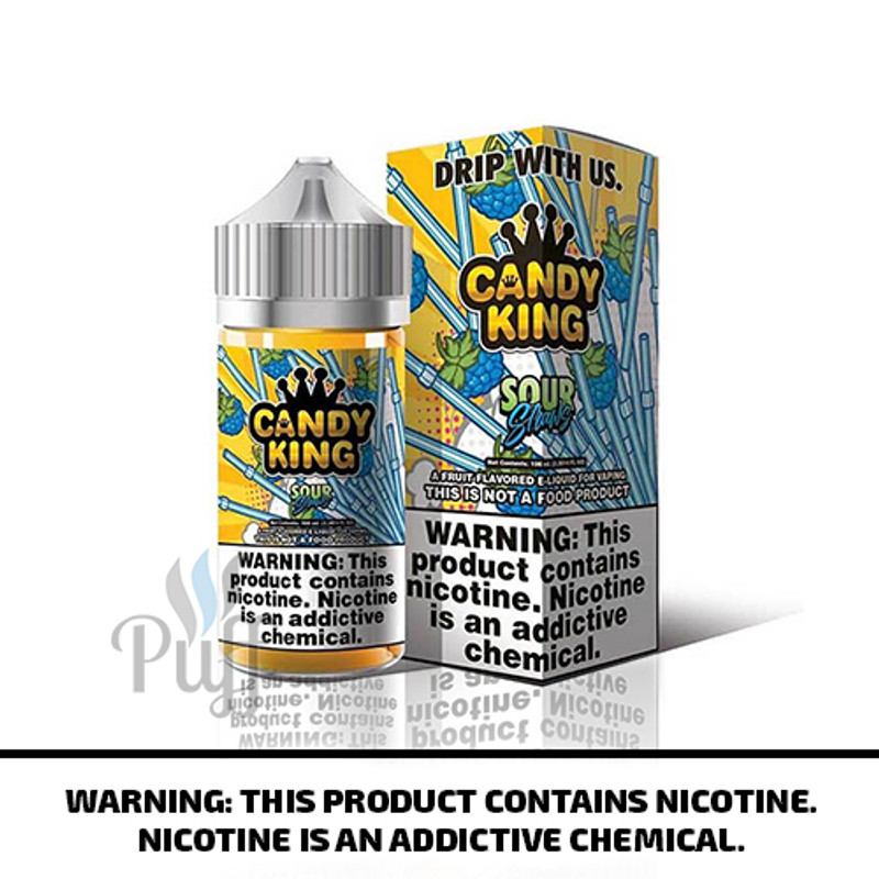 Candy King E-Liquid Sour Straws 100ml