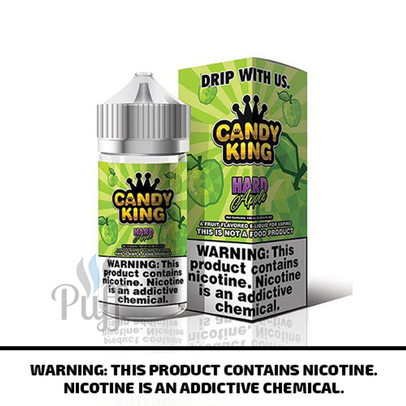 Candy King E-Liquid Hard Apple 100ml