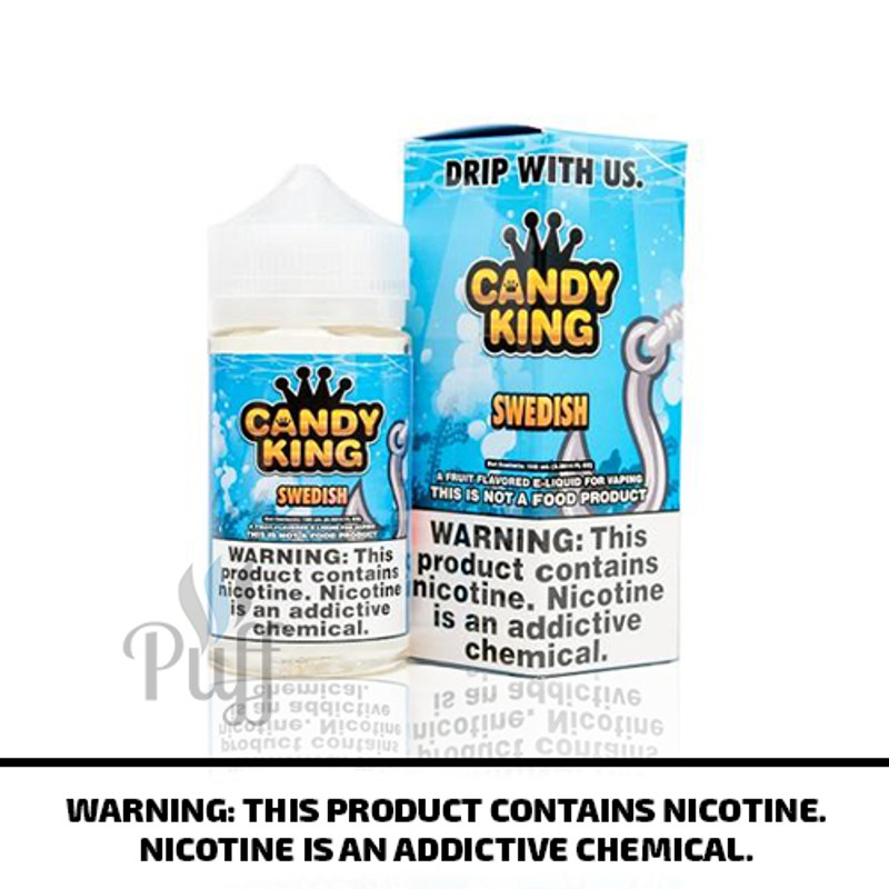 Candy King E-Liquid Swedish 100ml