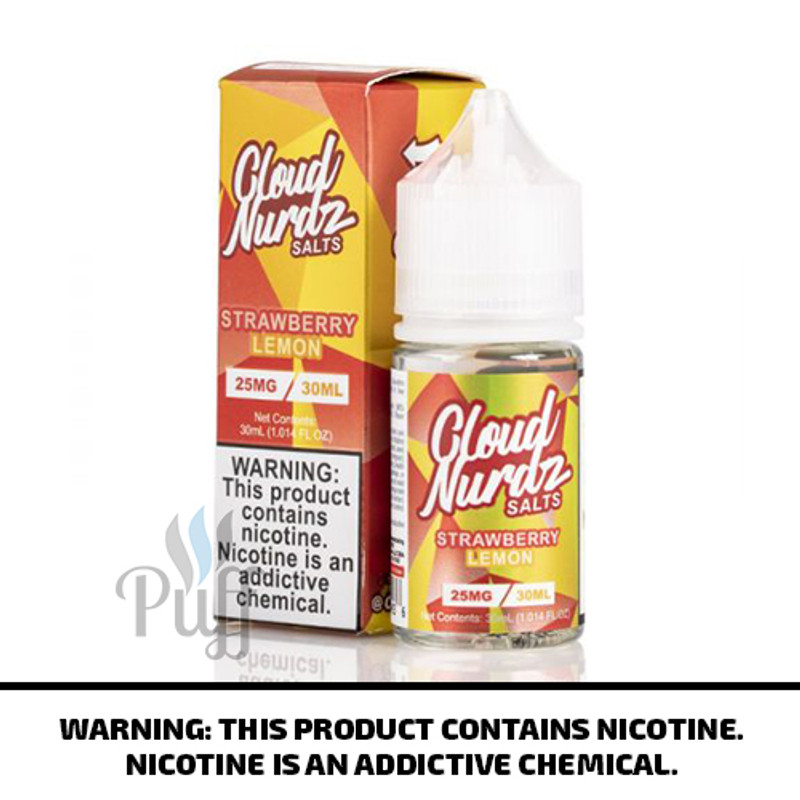 Cloud Nurdz Salts Strawberry Lemon 30ml