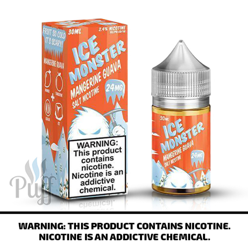 Jam Monster Salts Ice Monster Mangerine Guava 30ml