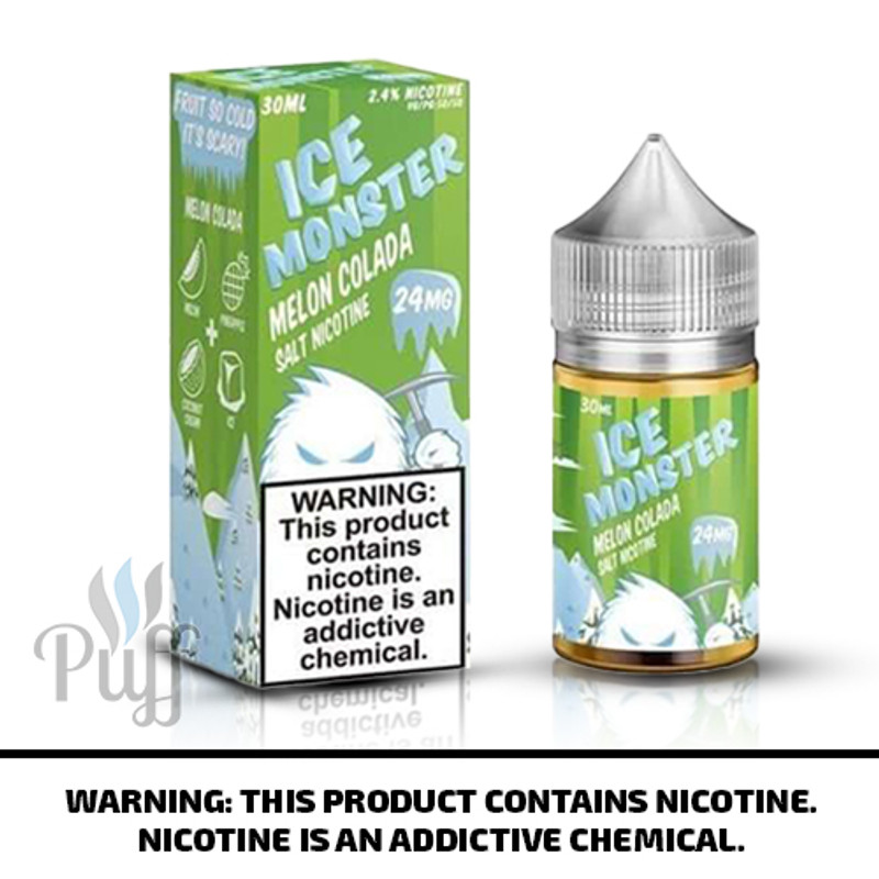 Jam Monster Salts Ice Monster Melon Colada 30ml