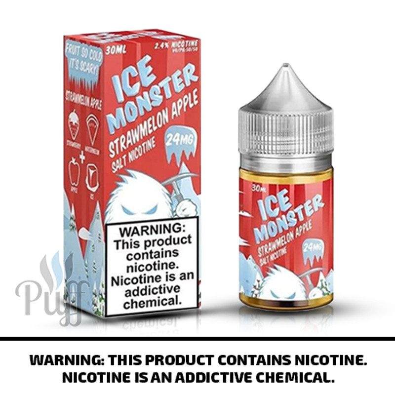 Jam Monster Salts Ice Monster Strawmelon Apple 30ml