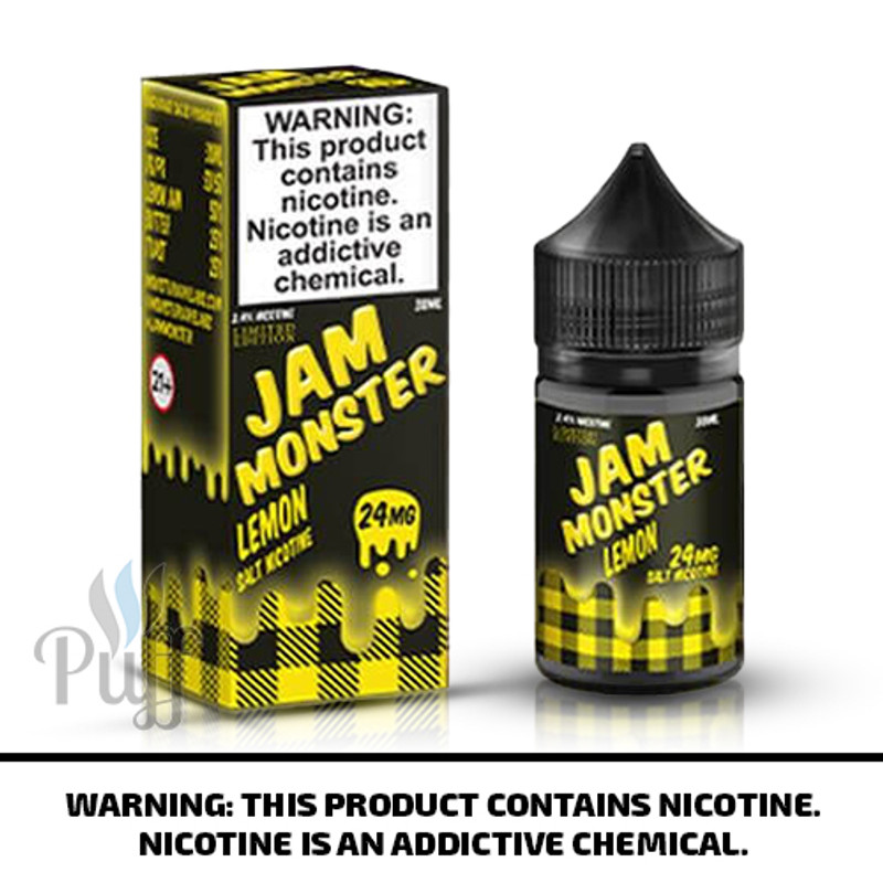 Jam Monster Salts Lemon 30ml
