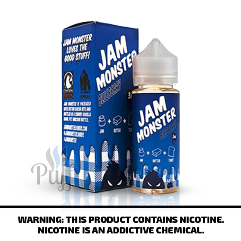Jam Monster E-Liquid Blueberry Jam 100ml