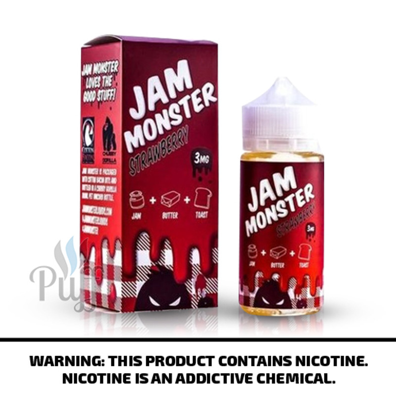 Jam Monster E-Liquid Strawberry Jam 100ml