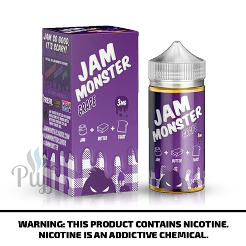 Jam Monster E-Liquid Grape 100ml