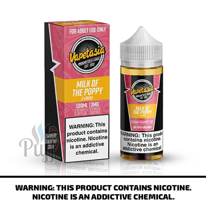 Vapetasia E-Liquid Milk of the Poppy 100ml