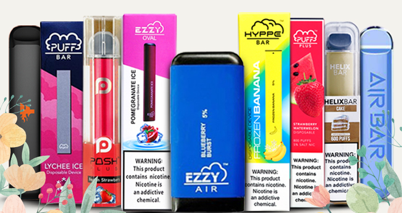 Top 10 Disposable Devices at Puff E-Cig