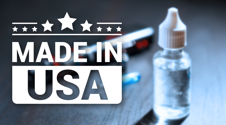 Why are Tobacco-Free Nicotine E-Juices Made in the USA the Best Option?