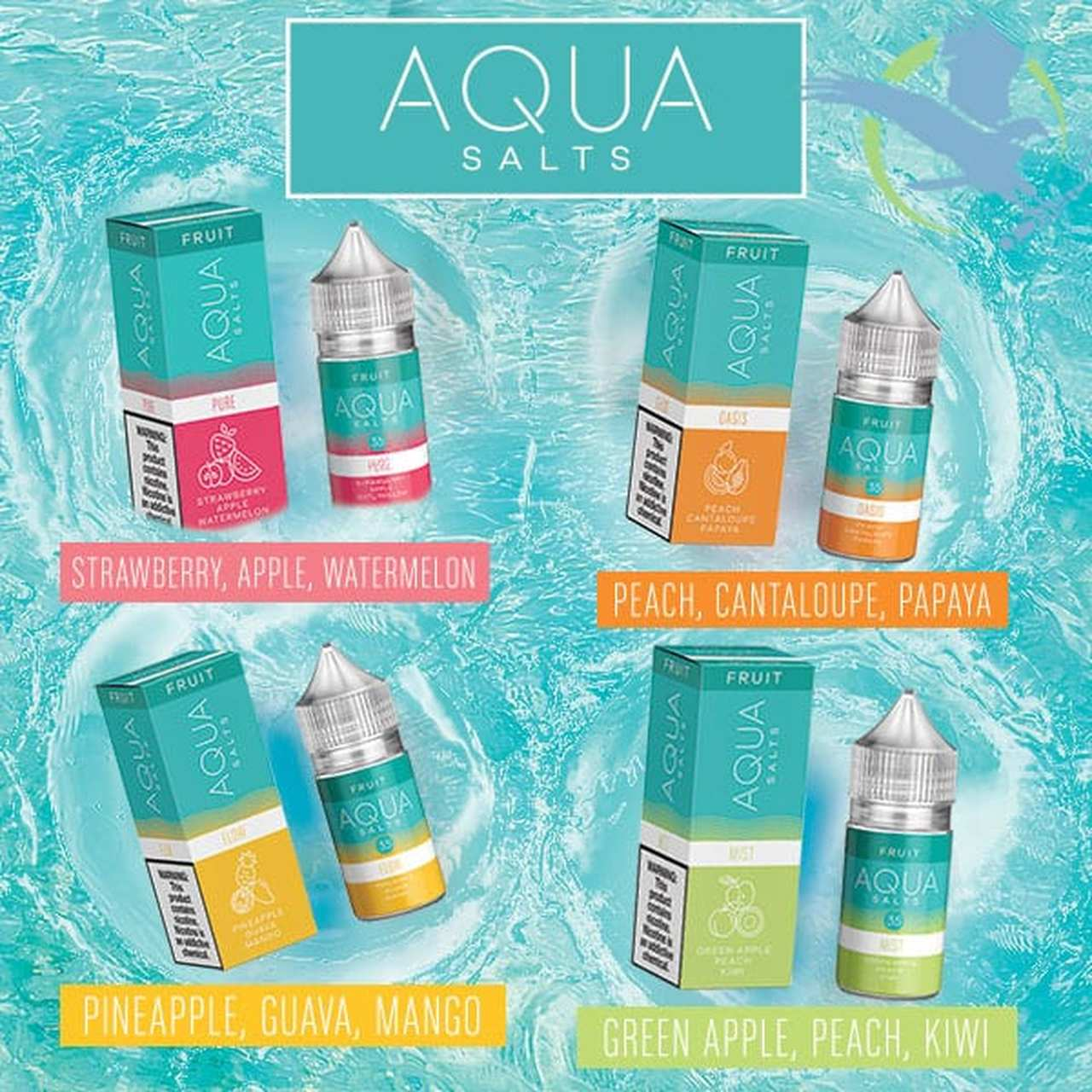 Quench Those Cravings in More Ways Than One with Aqua Salts