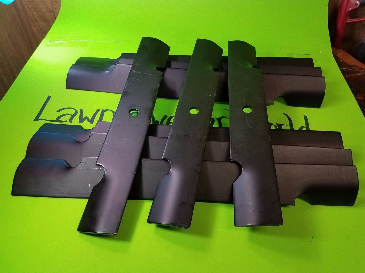 """11224 3 Blades 20-1//2/"""" X 15//16/""""  Replaces Exmark 103-6403 Lift"""
