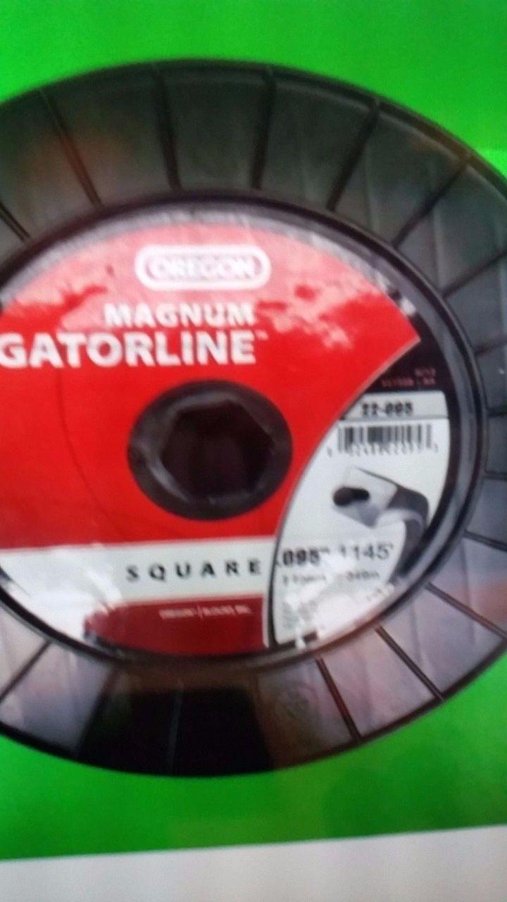 22-095 Oregon Square Magnum Gatorline Trimmer Line 5 LB Spool .095 Gauge 1,134 F