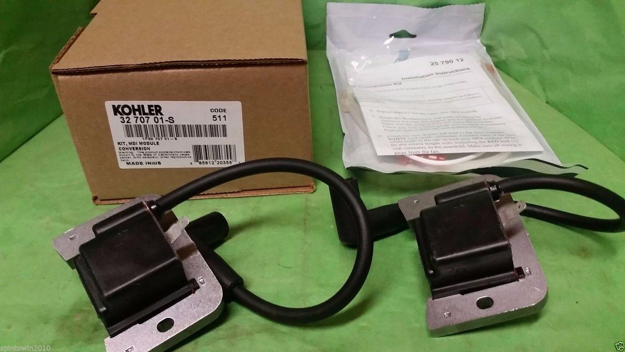 Kohler 32 707 01-S MDI Ign  module conversion kit for Kohler SV735, 740 &  840