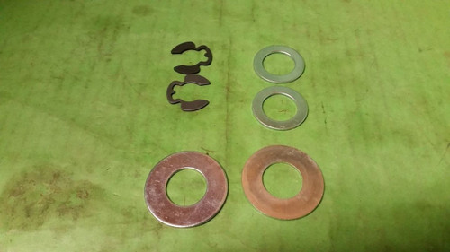 12000029 121748X 121749X 2 CLIPS 2 washers inner 2 washers outer, 6-parts 9040H