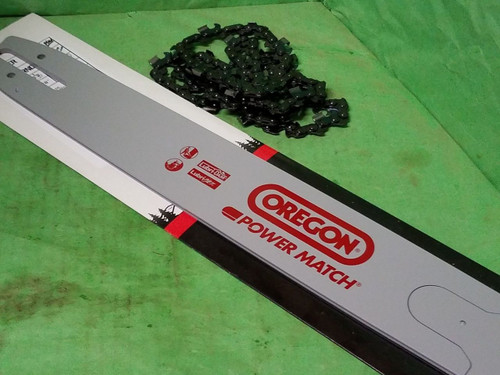 "18"" Oregon 180RNDD025 chainsaw guide bar & 1 chain for MS 362 390 391 290 291 +"