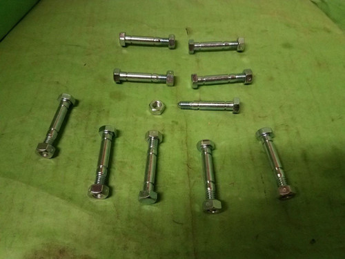 Ariens 2 Stage Snow Thrower Shear Pins Bolts Auger 51001500 510015 10 Pack Bolt