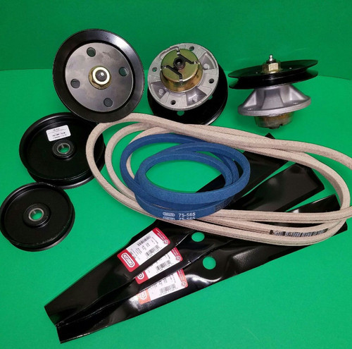 "John Deere LX186 and LX188 48"" Lawn Mower Deck Parts Rebuild Kit"