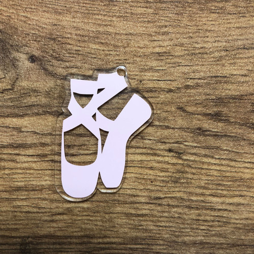 BALLERINA SHOES KEYCHAIN