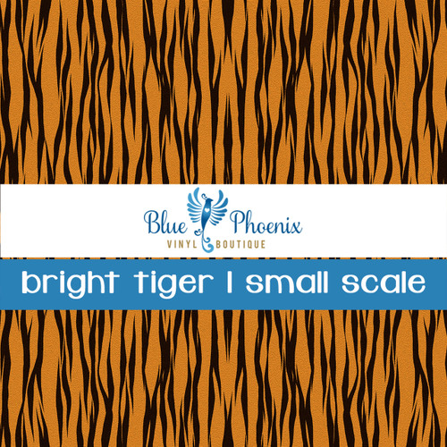 BRIGHT TIGER | SMALL SCALE PATTERN VINYL