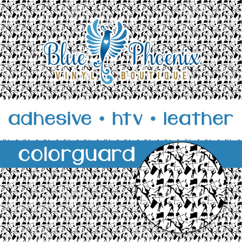 COLORGUARD FAUX PATTERNED LEATHER HTV ADHESIVE VINYL