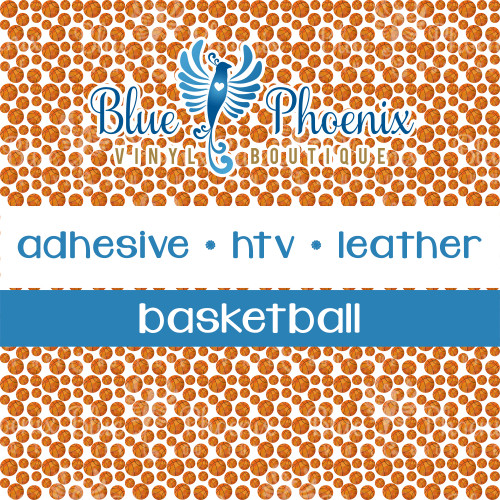BASKETBALL PATTERNED VINYL OR LEATHER