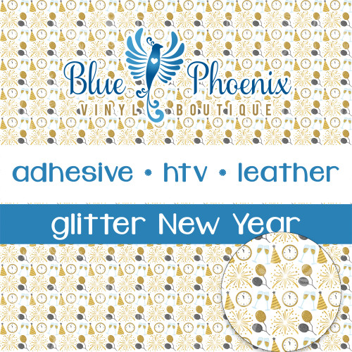 NEW YEAR PATTERNED (no dates) VINYL OR LEATHER
