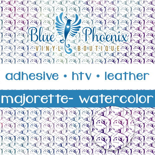 MAJORETTE PATTERNED LEATHER HTV ADHESIVE VINYL