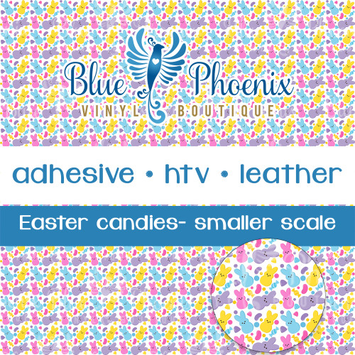 EASTER CANDY PATTERNED VINYL OR LEATHER