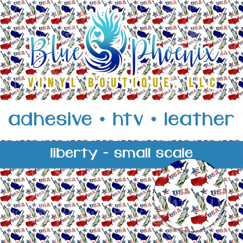LIBERTY PATTERNED VINYL OR LEATHER