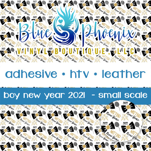BOY NEW YEAR 2021 PATTERNED VINYL OR LEATHER
