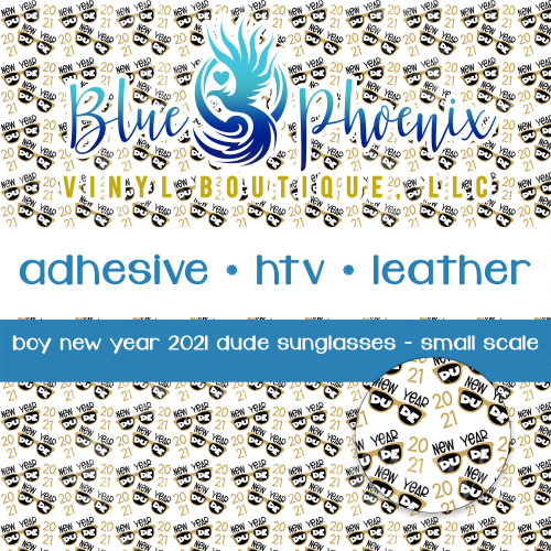 BOY NEW YEAR SUNGLASSES 2021 PATTERNED VINYL OR LEATHER