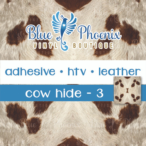 COWHIDE COW HIDE_3 SCALED PATTERNED VINYL OR LEATHER