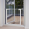 Product Babydan Premier True Pressure Fit Safety Gate - White (73.5 - 79.6cm; Max 119.3)