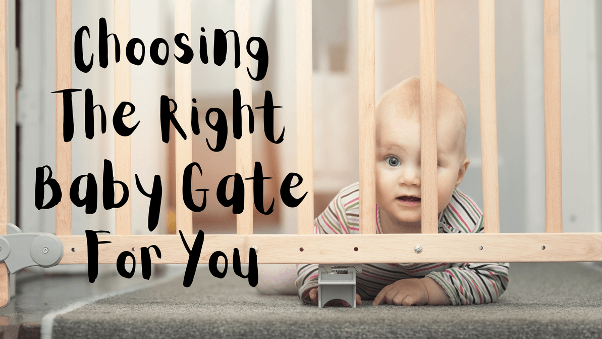 Choosing The Right Baby Gate For You