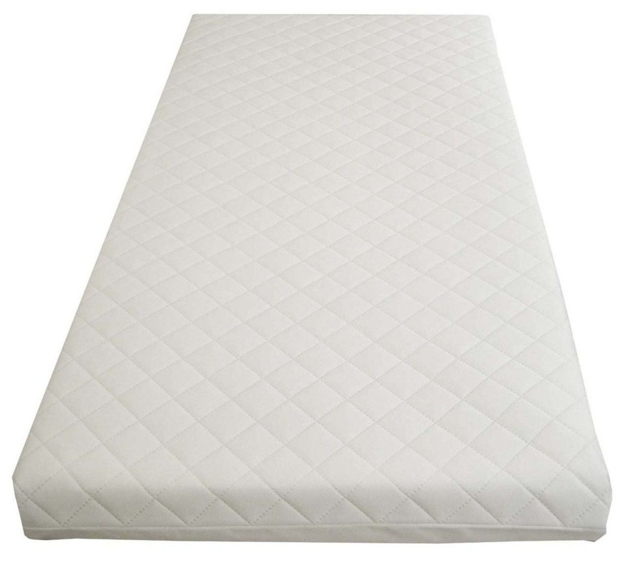 COT BED SPRING MATTRESS WITH BREATHABLE FOAM COT BED MATTRESS 2 SIZES AVAILABLE