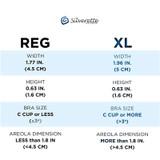 Size Chart Silverette® Nursing Cups - The Original