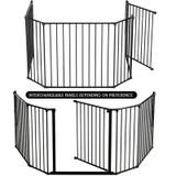Product BabyDan Configure Flex XL Hearth Gate Black 90-278cm