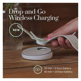 Owlet Smart Sock Baby Monitor 3 Wireless charging