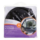 Dreambaby Insta-Cling Car Shades Black - 2 Pack packaging